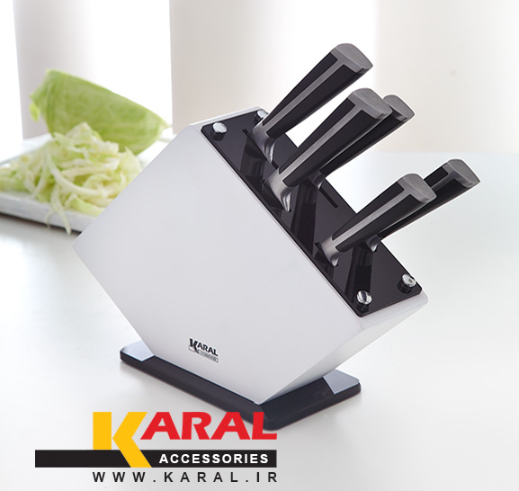 سرویس چاقوی آشپزخانه ۶ پارچه کارال مدل پروشات