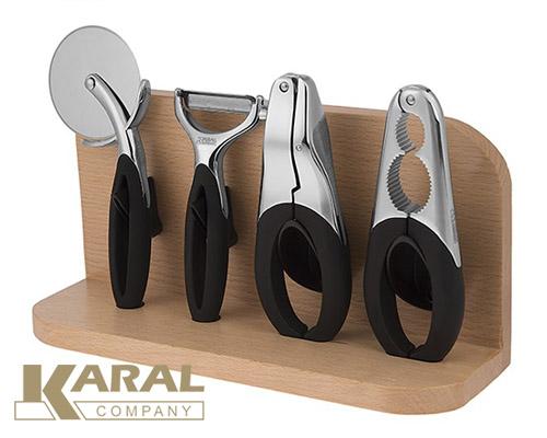 ابزار آشپزخانه کارال ست ۵ پارچه مدل دایموند