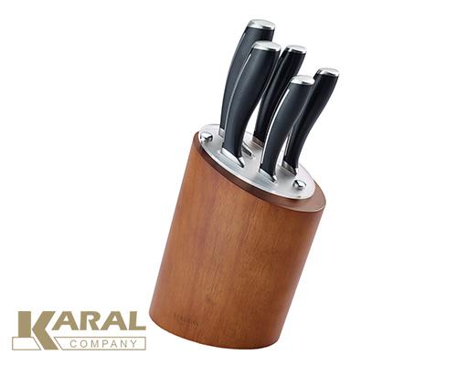 سرویس چاقوی آشپزخانه ۶ پارچه کارال مدل روما