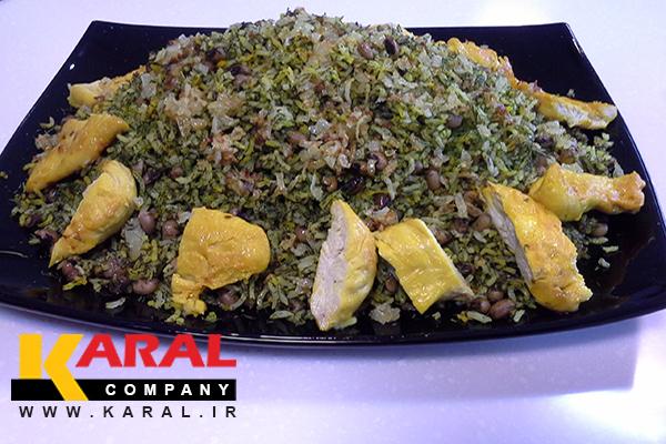 طرز تهیه ریزه پلو شیرازی در ظروف کارال
