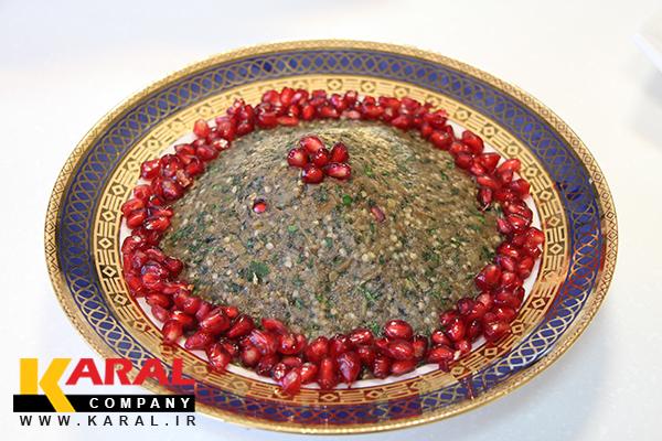 طرز تهیه کال کباب در کارگاه آشپزی کارال