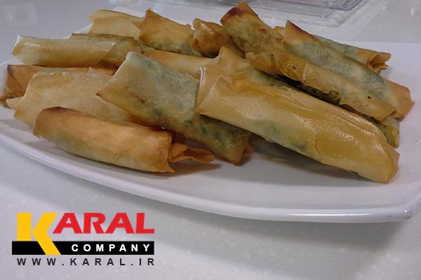 طرز تهیه لقمه اسفناج و پنیر در کارگاه آشپزی کارال