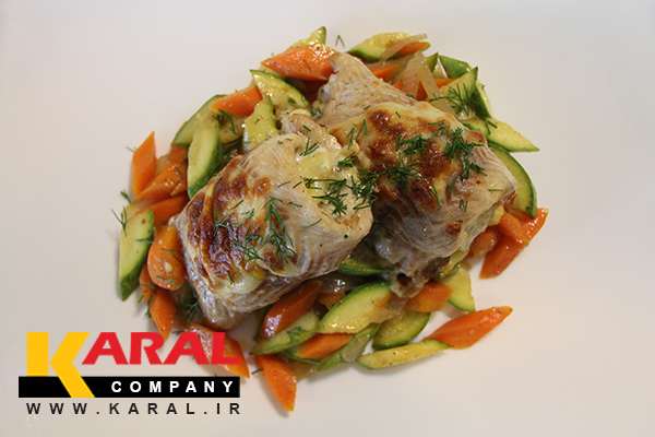 طرز تهیه ماهی سالمون یا قزل آلای رژیمی در ظروف کارال