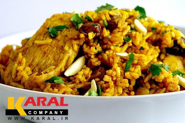 طرز تهیه بریانی هندی در کارگاه آشپزی کارال