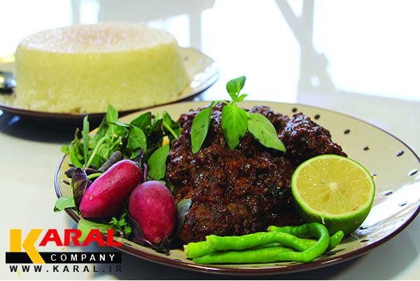 طرز تهیه شامی رودباری در ظروف کارال