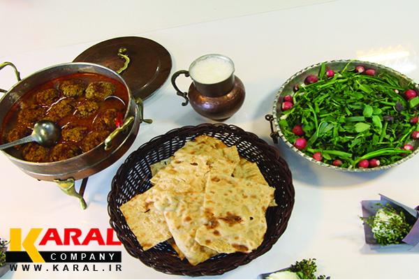 طرز تهیه کوفته سماق در ظروف کارال