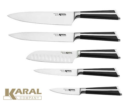 ست چاقوی 5 پارچه کارال مدل پروشات