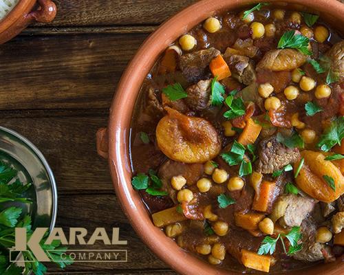 طرز تهیه طالجین گوشت و به مراکشی