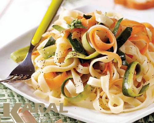 طرز تهیه فتوچینی سبزیجات در ظروف هاردآنادایزد کارال
