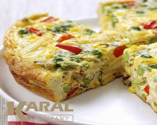 طرز تهیه املت سبزیجات در ظروف کارال