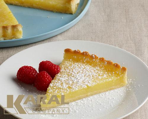طرز تهیه تارت لیموی فرانسوی در کارگاه آشپزی کارال
