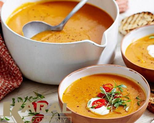 سوپ عدس مجارستانی
